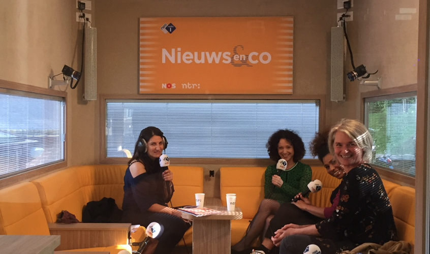 NPO radio 1 Nieuws en Co over DREMPEL magazine