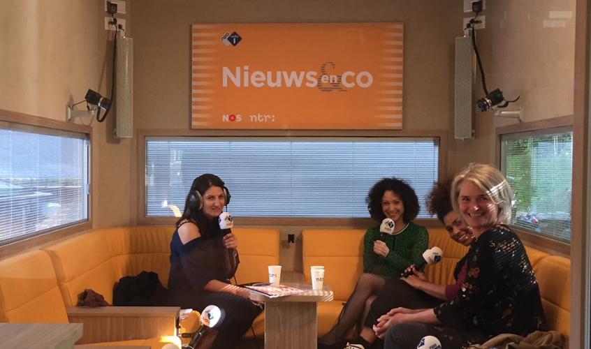 NPO radio 1 Nieuws en Co over DREMPEL magazine