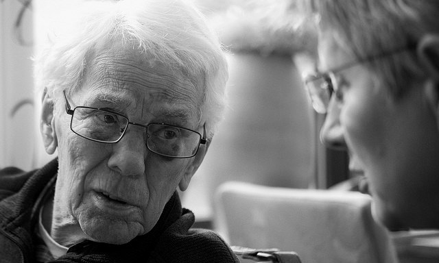 Patiënten met de ziekte dementie